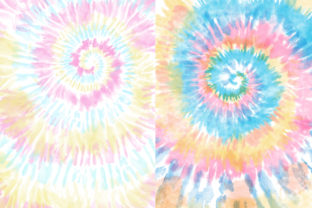 Pastel Tie-Dye Backgrounds Graphic Patterns By TheGypsyGoddess 7