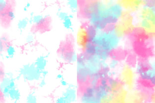 Pastel Tie-Dye Backgrounds Graphic Patterns By TheGypsyGoddess 9