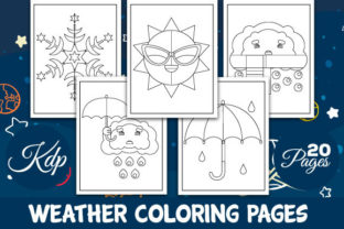 Print on Demand: Weather Coloring Book Graphic Coloring Pages & Books Kids By Trend Color