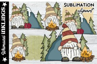 Cute Forest Gnomes Graphic Illustrations By Whimsical Inklings
