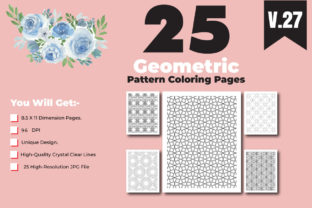 Print on Demand: KDP-Adult Coloring Book with Pattern Graphic Coloring Pages & Books Adults By ivect 2