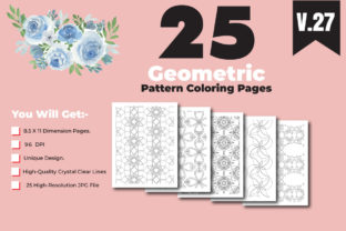 Print on Demand: KDP-Adult Coloring Book with Pattern Graphic Coloring Pages & Books Adults By ivect 3