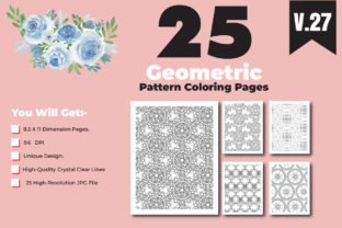 Print on Demand: KDP-Adult Coloring Book with Pattern Graphic Coloring Pages & Books Adults By ivect 1