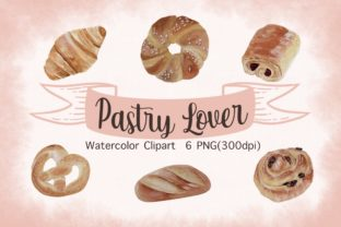 Print on Demand: Pastry Lover Sublimation Graphic Illustrations By AchitaStudio
