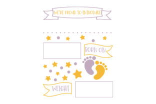 We're Proud to Introduce... Baby Craft Cut File By Creative Fabrica Crafts