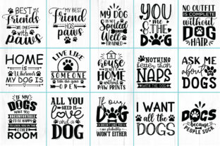 25 Dog Quotes Bundle Graphic Crafts By CraftlabSVG 2