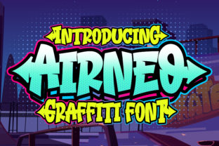 Print on Demand: Airneo Display Font By Blankids Studio