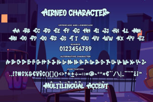 Print on Demand: Airneo Display Font By Blankids Studio 5