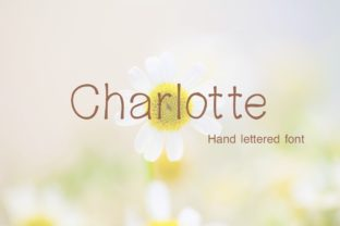 Print on Demand: Charlotte Sans Serif Font By PeamCreations