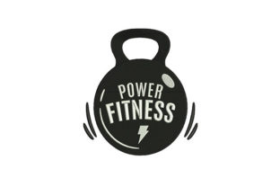 Power Fitness Weight Wellness Embroidery Design By DigitEMB