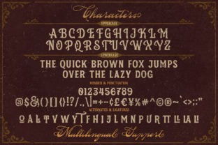 Print on Demand: Silvestern Display Font By letterhend 6