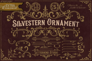 Print on Demand: Silvestern Display Font By letterhend 8