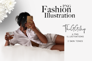 Print on Demand: Stay at Home Girl Illustrations Graphic Illustrations By TheGGShop