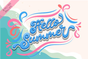 Print on Demand: Summer Party Script & Handwritten Font By Nobu Collections 3