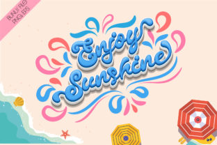 Print on Demand: Summer Party Script & Handwritten Font By Nobu Collections 4