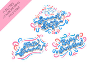 Print on Demand: Summer Party Script & Handwritten Font By Nobu Collections 10