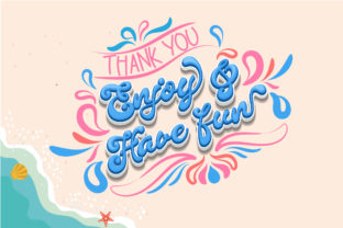 Print on Demand: Summer Party Script & Handwritten Font By Nobu Collections 11