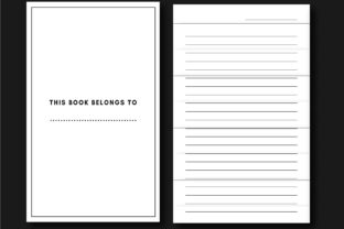 100 Page Simple KDP  Notebook Graphic KDP Interiors By Ador Hasan 2