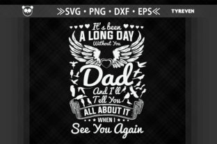 Print on Demand: Angel Dad Withou You Father's Day Graphic Crafts By Tyreven