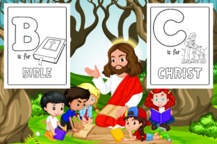 Bible Alphabet Coloring Pages Graphic Coloring Pages & Books Kids By Alpha Coloring