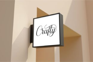 Print on Demand: Crafty Holiday Script & Handwritten Font By fiqiart 5