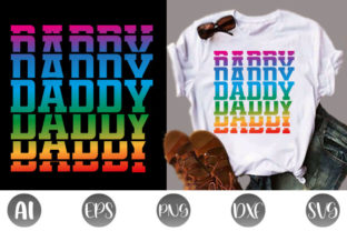 Print on Demand: Father's Day T-shirt Design Graphic Print Templates By creative_design915