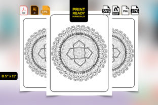 Print on Demand: Kdp Coloring Mandala Page Graphic Coloring Pages & Books Adults By TeamlancerBD