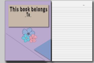 200 Pages - Wide Ruled Paper Note Book Graphic KDP Interiors By Ador Hasan