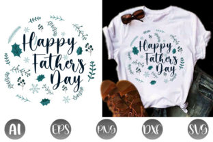 Print on Demand: Fathers Day T-shirt Design Graphic Print Templates By creative_design915