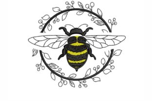 Bee Bugs & Insects Embroidery Design By SonyaEmbroideryStore