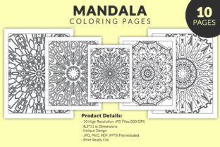 Print on Demand: KDP Interiors - Mandala Coloring Book Graphic Coloring Pages & Books Adults By fuad333