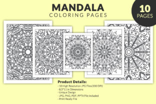 Print on Demand: Mandala Coloring Book for Kdp Interior Graphic Coloring Pages & Books Adults By fuad333