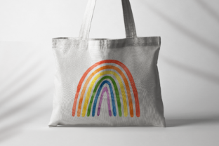 Print on Demand: Pride Month, Rainbow Watercolor Clipart Graphic Illustrations By ValinMalin 6