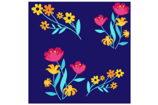 Flower Print Spring Craft Cut File By Creative Fabrica Crafts