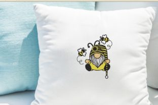 Print on Demand: Bee Kind Gnome Bugs & Insects Embroidery Design By ArtEMByNatali 2