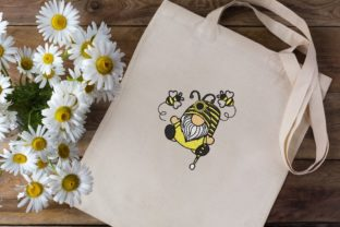 Print on Demand: Bee Kind Gnome Bugs & Insects Embroidery Design By ArtEMByNatali 3