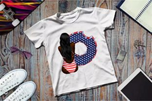 Best Friends Patriotic Clipart, 4th July Graphic Illustrations By Arte de Catrin 7
