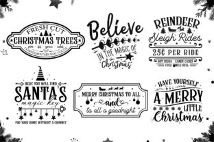 Christmas Farmhouse Sign Making Bundle Graphic Crafts By CraftlabSVG 3