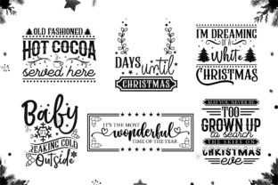 Christmas Farmhouse Sign Making Bundle Graphic Crafts By CraftlabSVG 4