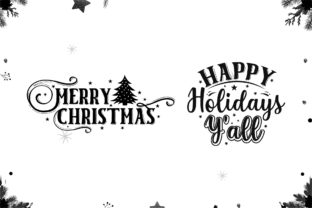 Christmas Farmhouse Sign Making Bundle Graphic Crafts By CraftlabSVG 5