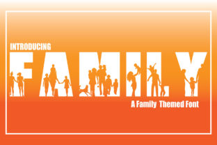 Print on Demand: Family Decorative Font By KtwoP 1
