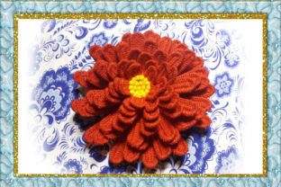 Print on Demand: Flower Single Flowers & Plants Embroidery Design By larisaetsy
