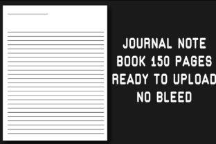 Journal 8.5x11 No Bleed Note Book Graphic KDP Interiors By Ador Hasan
