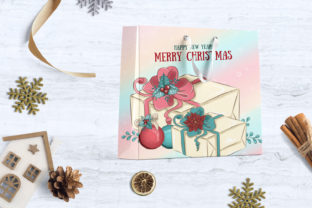 Print on Demand: Merry Christmas! CLIPART Holiday Planner Graphic Illustrations By LerVik 3
