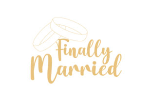 Finally Married Wedding Craft Cut File By Creative Fabrica Crafts