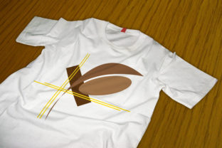 Print on Demand: Chocolate Lines T-shirt Design SVG Graphic Print Templates By Printable Pro Store