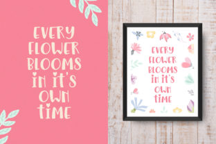 Print on Demand: Floralista Display Font By Salt and Pepper Fonts 2