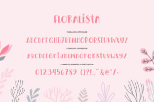 Print on Demand: Floralista Display Font By Salt and Pepper Fonts 7