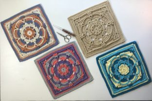 Margaret Square Graphic Crochet Patterns By AYarnofSerendipity