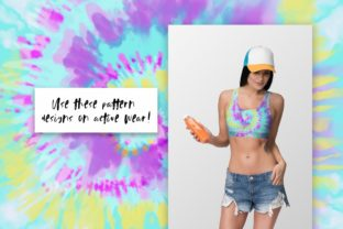 Neon Tie-Dye Vol. 4 Backgrounds Graphic Patterns By TheGypsyGoddess 4
